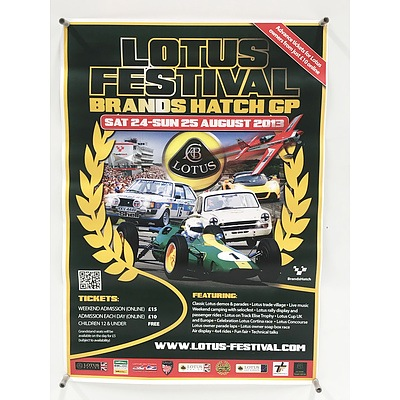 Six Car Festival Posters