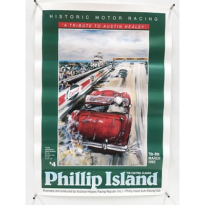 Four Car Posters