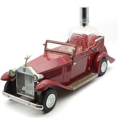 Rolls Royce Themed Muscial Decanter Set