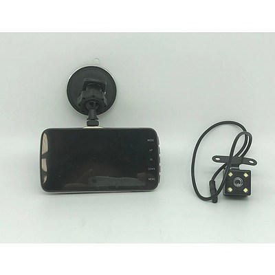 Brand New WDR Vehicle Traveling Data Recorder HD Front and Reverse Camera