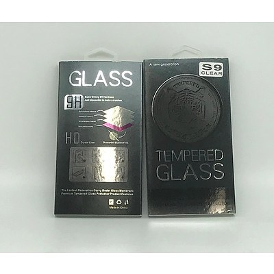 Lot of Brand New Tempered Glass 9H Galaxy S8 Full Cover High Quality Screen Protectors x38