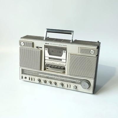 Akai AJ-490FS 4 Band Radio Cassette Recorder Player
