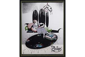 Philips Advertising Mirror