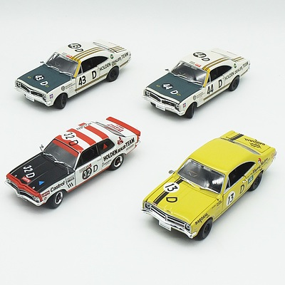 Group of Four Oz Legends Car Models 1/32