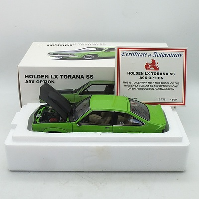 Auto Art - Holden Torana LX SS A9X Option 471/800 1:18 Scale Model Car