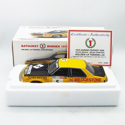 Auto Art - Holden Torana LH L34 Option Bathurst 1st Winner 1975 2044/6000 1:18 Scale Model Car