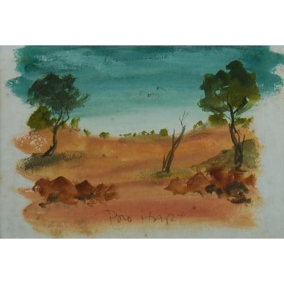 HART Pro (1928-2006) Outback Landscape