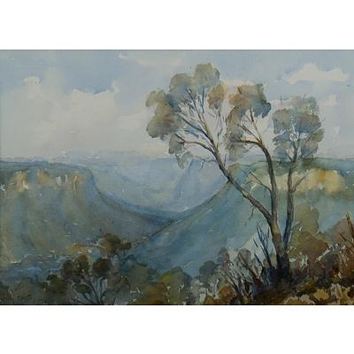 BEATTY Judy, 'View from Leura, Blue Mountains'