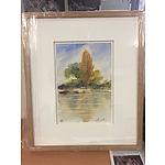 L26 -  Watercolour Painting - Autumn Calm