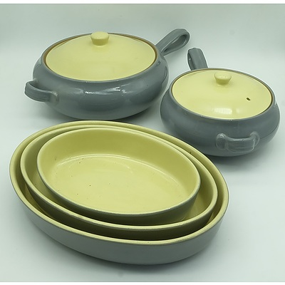 Twelve Piece Denby Stoneware Set