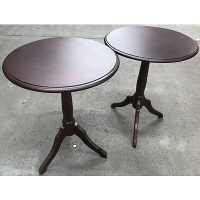 Two Drexel Heritage Side Tables