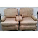 Pair of Drexel Heritage Arm Chairs