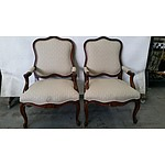 Two Drexel Heritage Armchairs