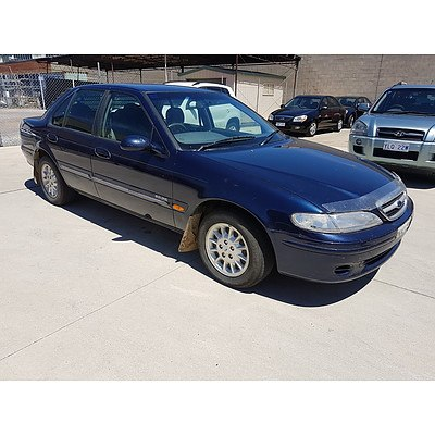 2/1998 Ford Fairmont  EL 4d Sedan Blue 4.0L