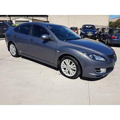 3/2008 Mazda Mazda6 Classic GH 5d Hatchback Grey 2.5L