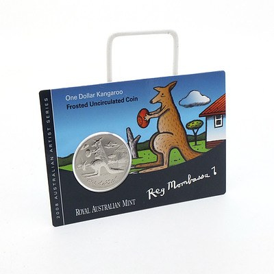 2008 RAM One Dollar Kangaroo - Frosted Uncirculated Coin