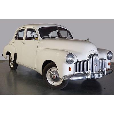 """01/1953 Holden """"48-215"""" FX Standard 4d Sedan White 2.2L"""