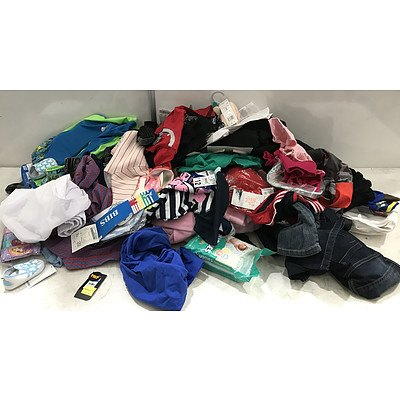 Bulk Lot of Brand New Kid's Clothing, Toys & Games