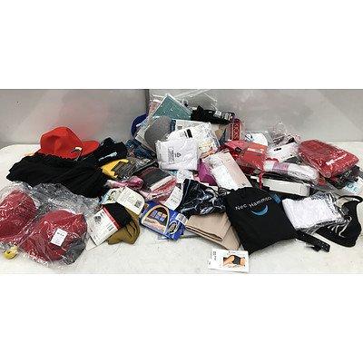 Bulk Lot of Brand New Women's Underwear & Accessories - RRP Over $300