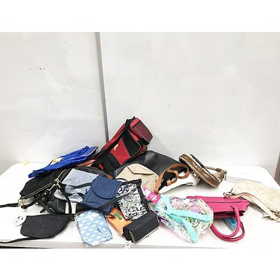 Bulk Lot of Brand New Handbags and Backpacks - RRP Over $500