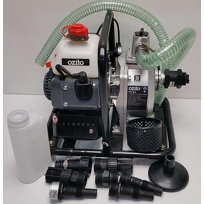 Ozito 2.2 HP Petrol Water Tranfer Pump