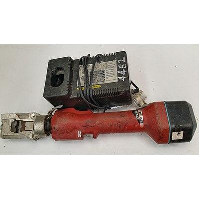 Itzumi ECO-50 14.4 Volt Cordless Battery Crimper