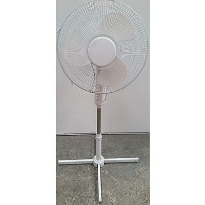 Essentials 40cm Pedestal Floor Fan