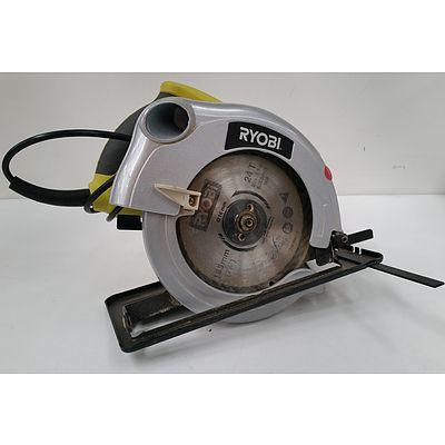 Ryobi 185mm Electric Circular Saw