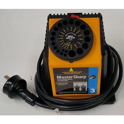 Master Sharp Electric Drill Sharpener