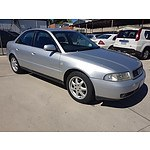 11/1999 Audi A4 1.8 Turbo Quattro MY99 4d Sedan Silver 1.8L