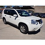 10/2010 Nissan X-trail ST (4x4) T31 MY10 4d Wagon White 2.5L