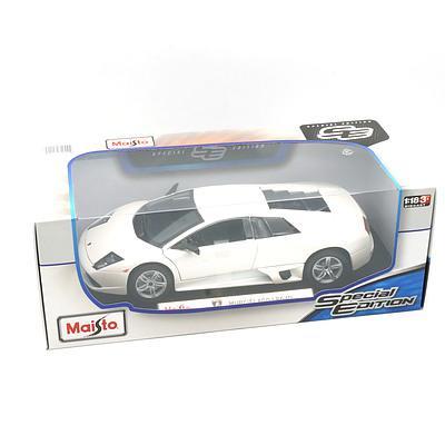 Maisto Special Edition 1:18 Diecast Lamborghini Murcielago LP640, White, New