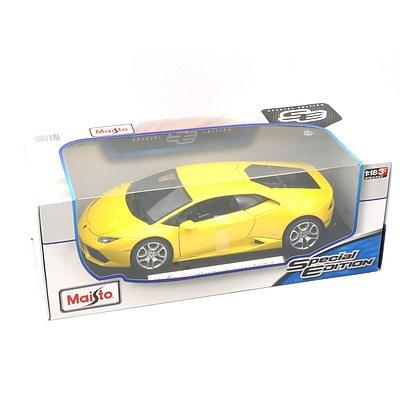 Maisto Special Edition 1:18 Diecast Lamborghini Huracan LP 610-4, New