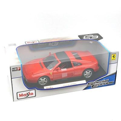 Maisto Special Edition 1:18 Diecast Ferrari 348ts, New