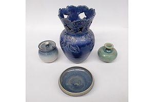Group of Studio Pottery including: N.T. Whitewood Park Pottery, Mogo Pottery and More