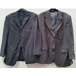 17 x Men's Suit Jackets and 10 x Pairs of Suit Pants(non matching) - New