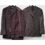 Men's Suits - Lot of Nine - New