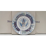 Villeroy & Boch 1999 Opening of Fox Studios Australia Limited Edition Plates - Lot of Five - New