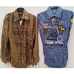 Point Zero Dimension Men's Shirts - Lot of 16 - Brand New
