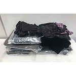 Large Group of Brand New Ladies Clothes Size 24/26/28 Including Tops, Dresses, Pants and a Leather Jacket