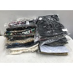 Large Group of Brand New Ladies Clothes Size 26/28 Including Tunics, Tank Tops, Tops, Pants, Cardigan and a Jacket