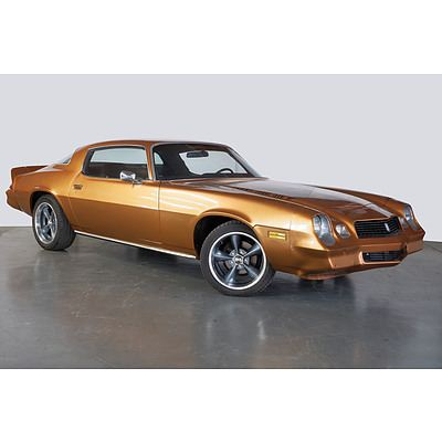 1981 Chevrolet Camaro Z28 2d Coupe Gold 5.7L