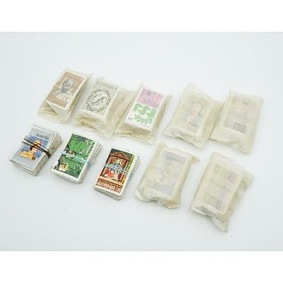Australian Decimal Stamps - 10 Bundles