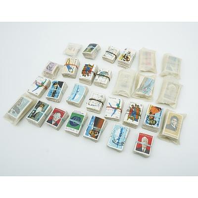 Australian Decimal Stamps - 30 Bundles