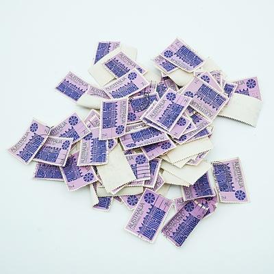 1971 Australian 7 cent 'Blue Star' Christmas Stamps - Bulk lot