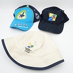 Lot of 3 Collectable Caps - Commonwealth and Goodwill Games