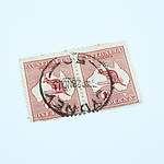 2 x Australian 1d - One Penny Red Kangaroo Stamp