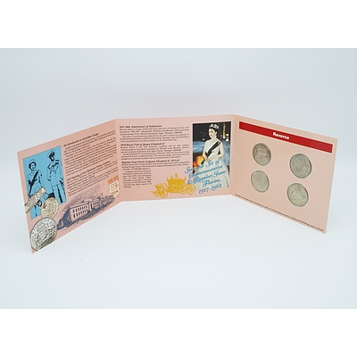 Souvenir Set of Commemorative & Regular Issue Florins 1927 - 1963