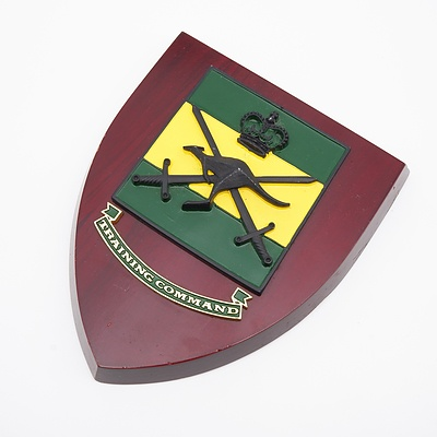 Military Plaque - Australian Army Field Force Command