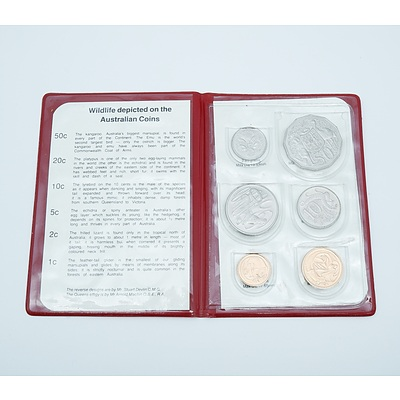 1983 Royal Australian Mint Six Coin Set - Wildlife